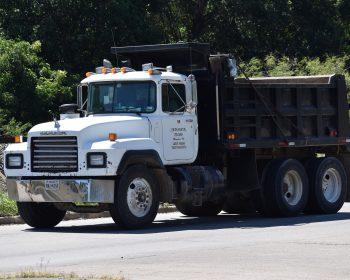 dump truck moving hauling massena new york